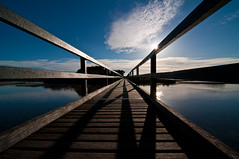 Mummaga Lake footbridge - Dalmeny (screenstreet) Tags: bridges southcoast dalmeny mummagalake