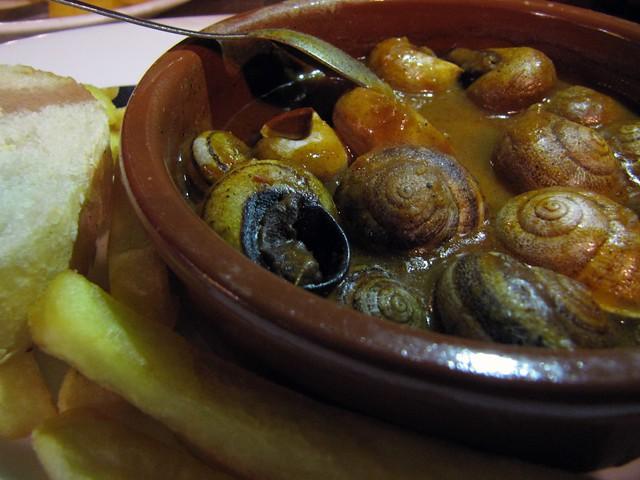 Granada Free Tapas Caracoles (Snails)