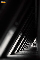 / Hong Kong Cultural Center (blackstation) Tags: street windows light bw hk building window glass lines skyline night clouds canon buildings reflections photography hongkong photo blackwhite office nice long exposure pano magic professional daytime    citylandscape skyscaper 2011  5d2 blackstation silverefexpro eos5dmarkii wangdong wwwblackstationcom