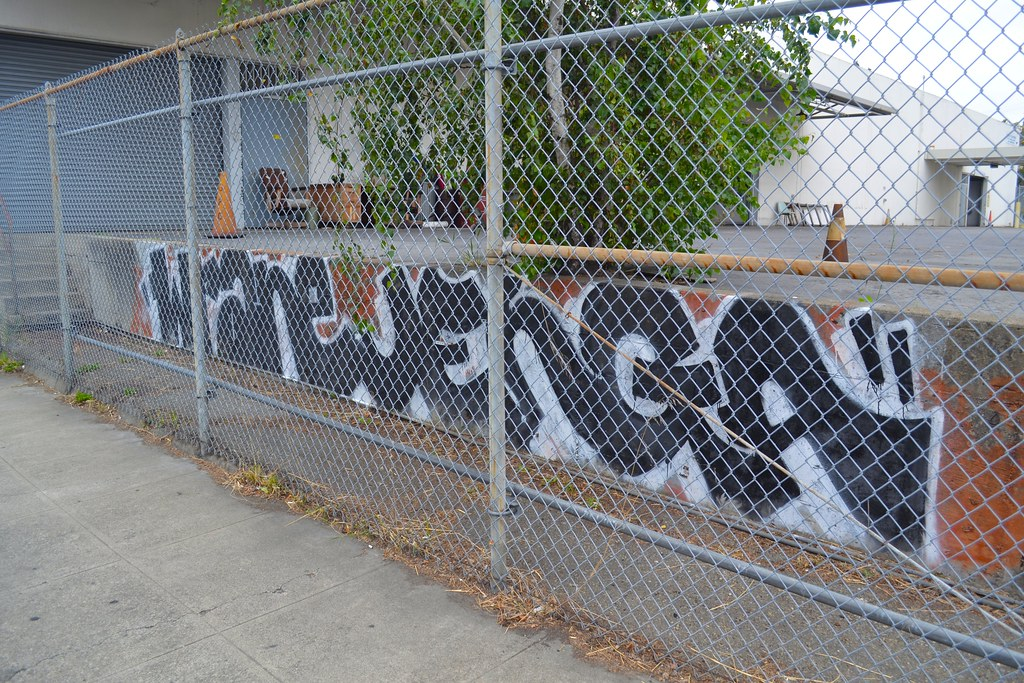 WRANE, JENGA, Street Art, Graffiti, Oakland