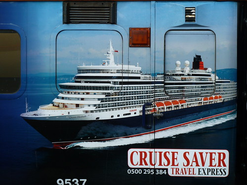 Branding on The Cruise Saver Travel Express