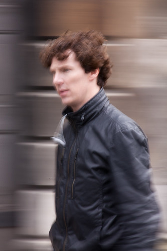 520/1000 - Filming of Sherlock - Benedict Cumberbatch by Mark Carline