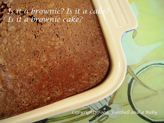 Chocolate Chestnut Brownie Cake 1