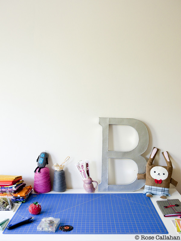 Brett Bara's home craft room