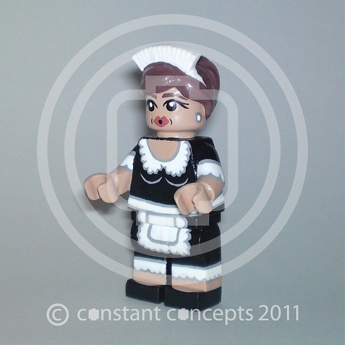 Custom minifig 2011 Maid #2 Constant Concepts