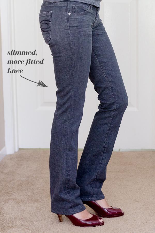 knee-slimmed