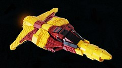 Dragon - Title (.Jake) Tags: lego space spaceship yamato homeworld starfighter foitsop
