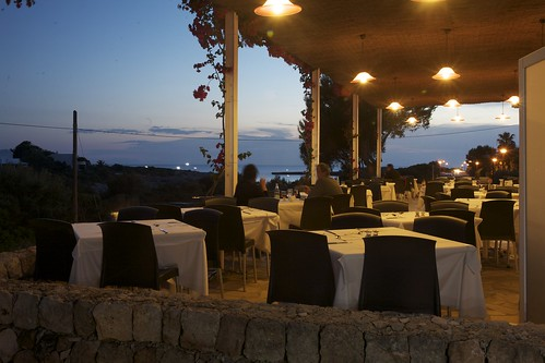 Night Terrace Restaurant Prinsotel Caleta