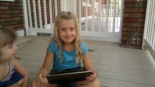 Chloe's baaaack! by ngoldapple