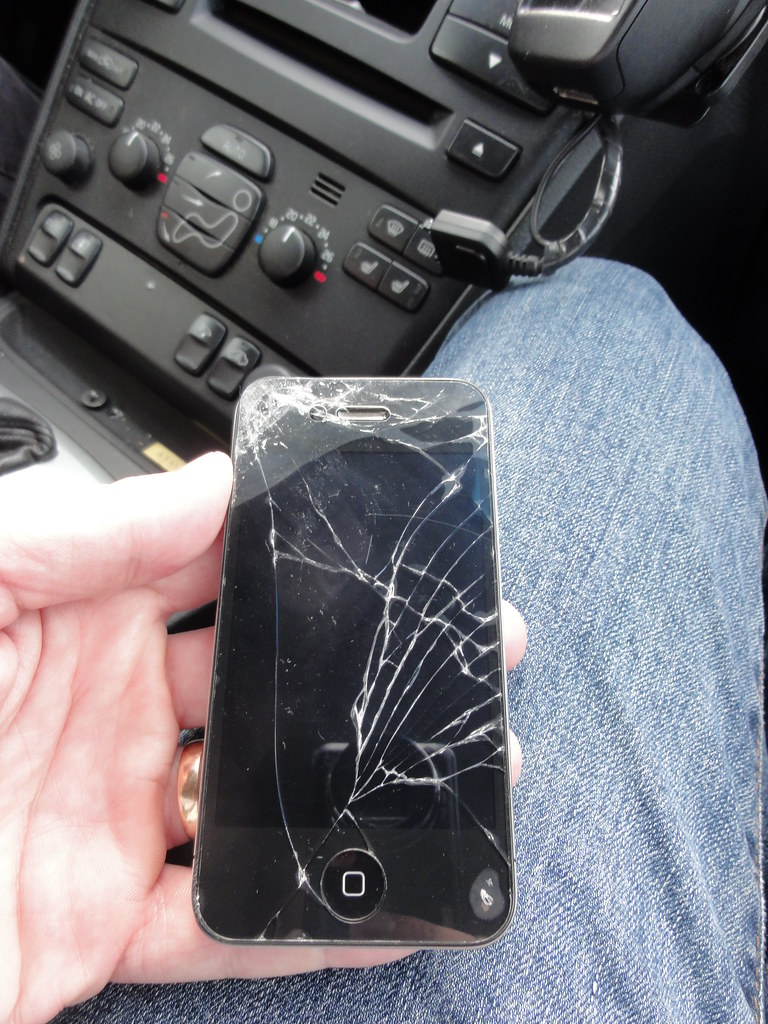 The end of my iPhone 4....