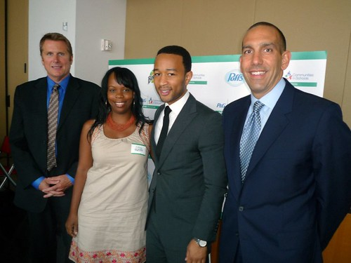 P&G GIVE Education event with John Legen