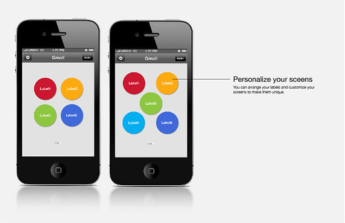 Personalize your screens
