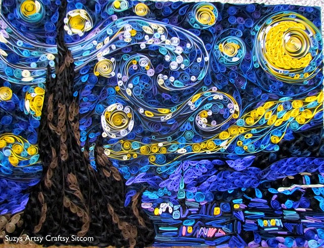 Quilled Starry Night2