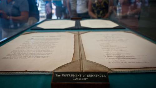 The Instrument of Surrender (Japan's Copy)