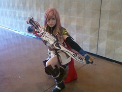 Miccostumes.com Customers Reviews & Photos-Final Fantasy XIII Lightning Cosplay Costume
