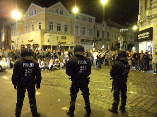 07 riot police Bremen