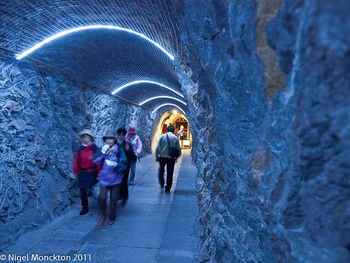 Tunnel, Jungfraujoch
