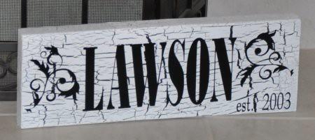 Lawson Sign