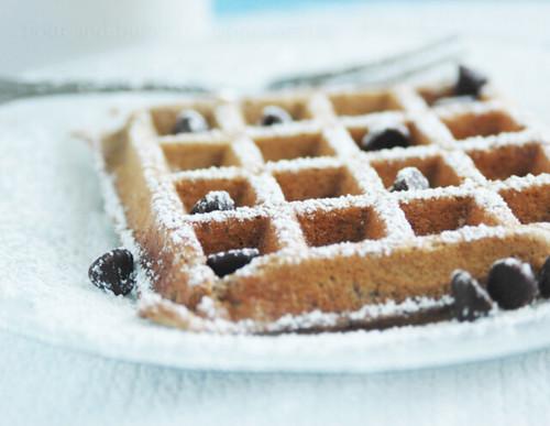 lazy morning waffle