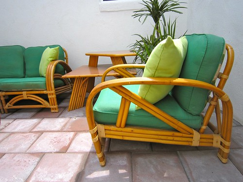 vintage rattan set a tiki tastic addition to the hacienda