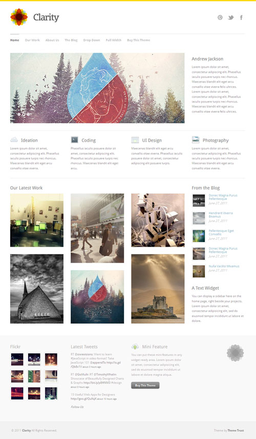 clarity-wordpress-theme