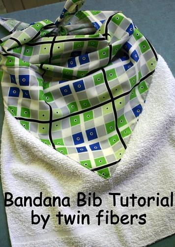 Bandana Bib Tutorial