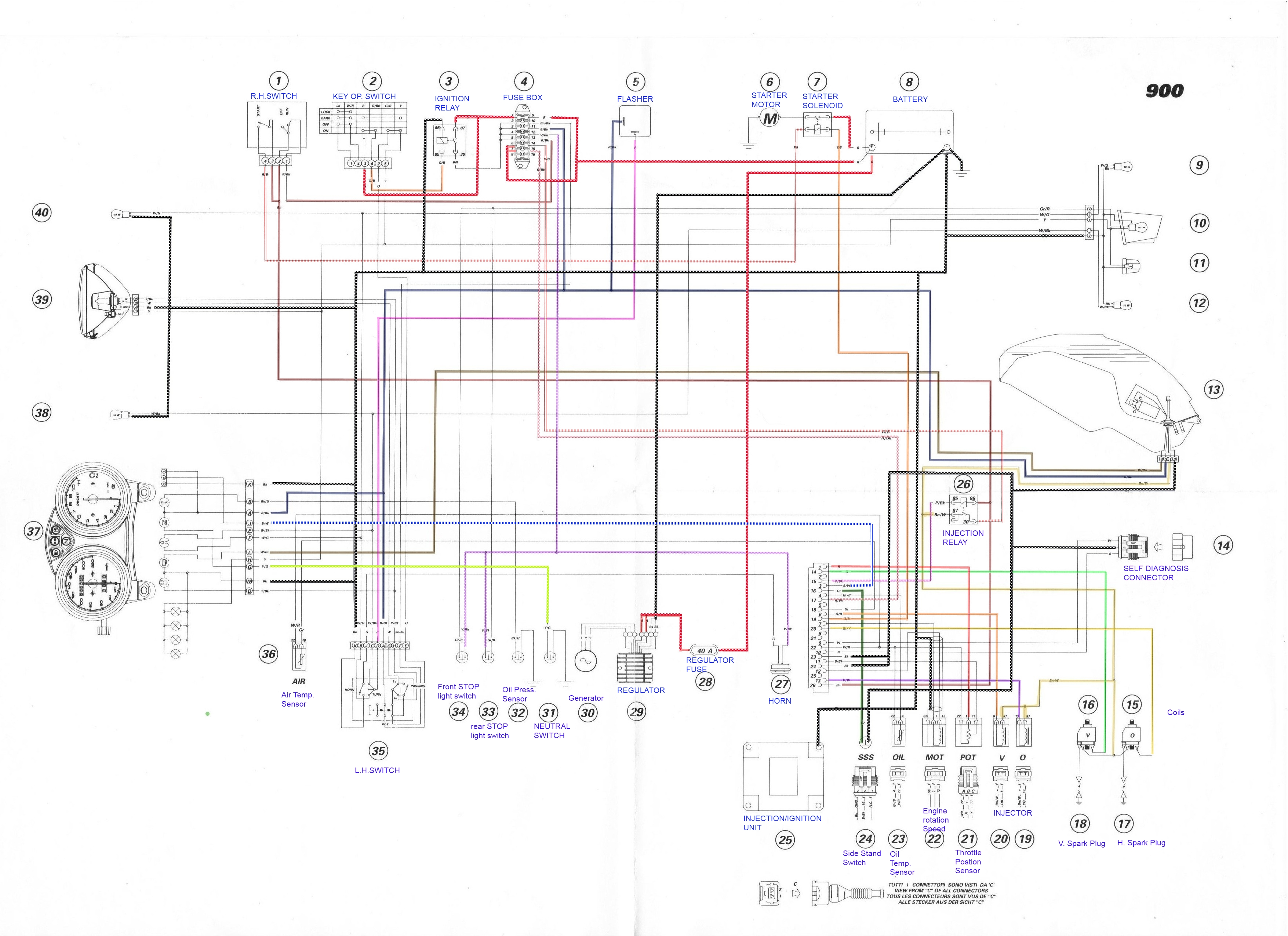 ducati st4 wiring diagram ducati st3s wiring diagram ducati s4 wiring all kind of wiring diagrams