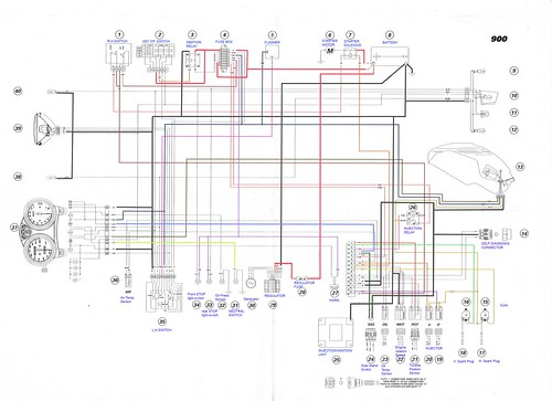 ducati 1098 wiring diagram vw passat electrical schematic at manual Green Frame Ducati ducati paso wiring diagram ducati wiring diagrams
