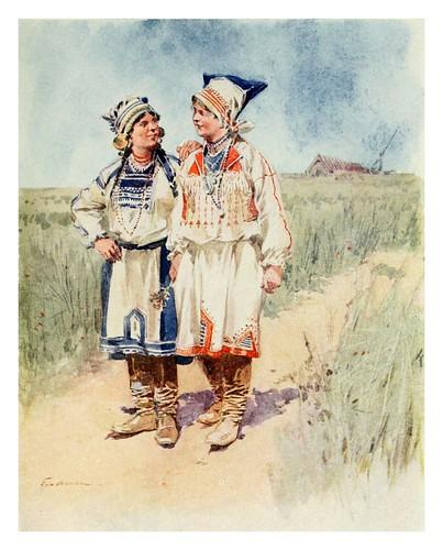 015.Campesinos rusos- Provincial Russia-1913- F. de Haenen