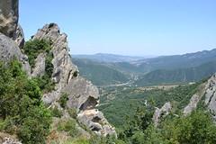 07 Dolomiti Lucane - dal  Castello di Castelmezzano