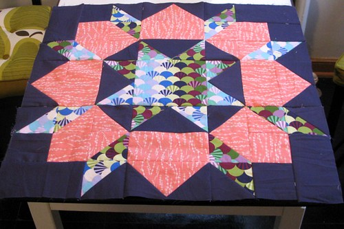 Swoon quilt, block 7