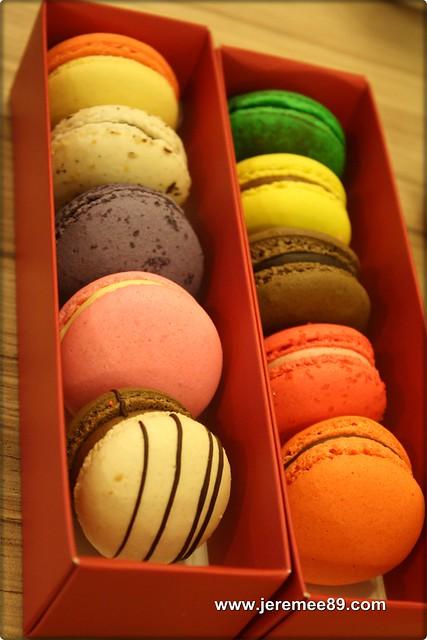 Levain Boulangerie & Patisserie @ Off Jalan Imbi, Kuala Lumpur - Macaroons