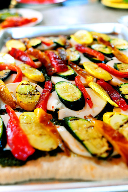 Grilled Vegetable Pizza | The Pioneer Woman Cooks | Ree Drummond