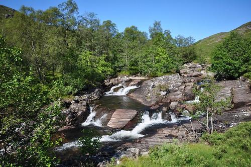 Waterfalls Abhainn Rath