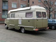05-NK-95 OPEL Blitz camper, 1972, Amsterdam (ClassicsOnTheStreet) Tags: bus amsterdam gm oldtimer streetphoto van blitz 1972 camper mobilehome streetview opel gespot camionette kampeerwagen kampeerauto straatfoto carspot cwodlp 05nk95