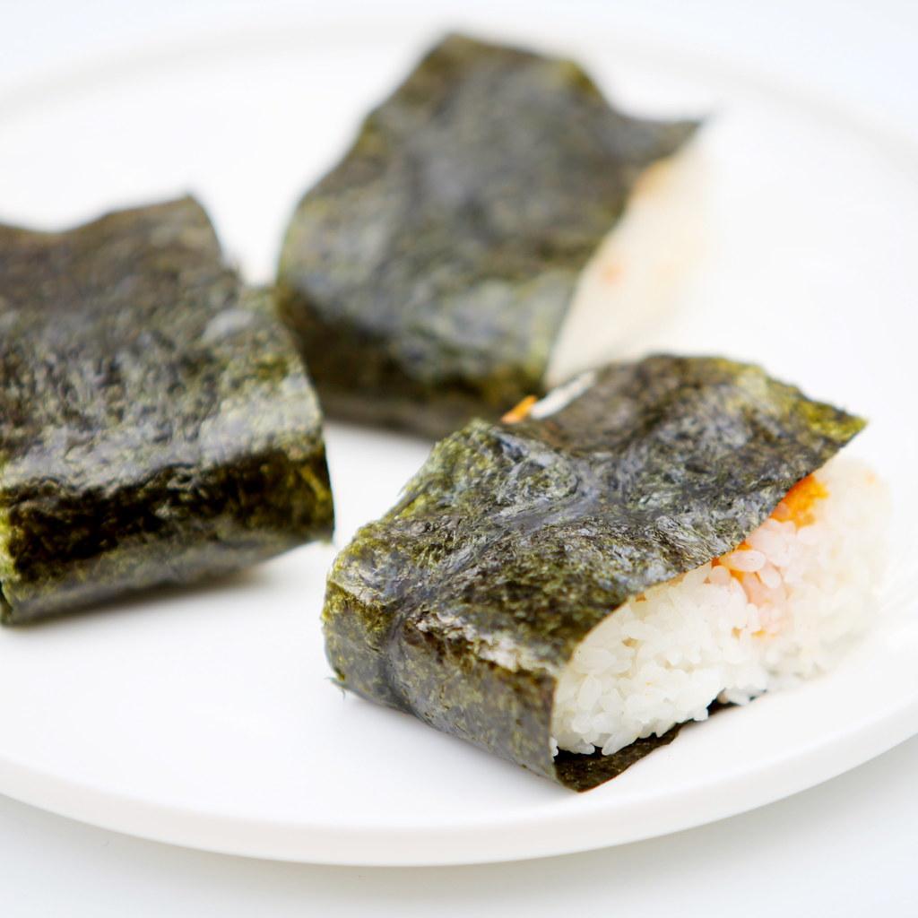 Yam & Salmon Onigiri