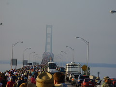 Mackinaw bridge walk by KatSwinehart