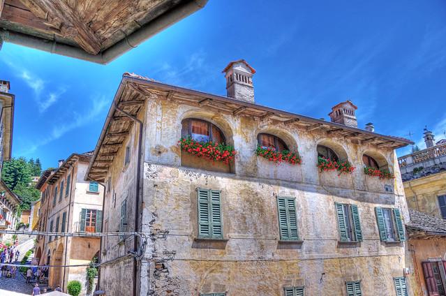 Orta San Giulio -HDR-