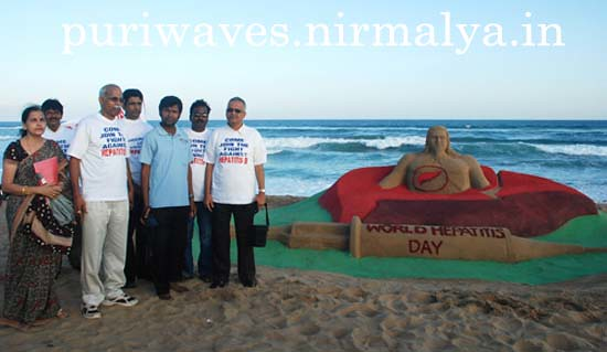 Hepatitis B awareness campaigned flagged off by Sudarshan Pattnaik