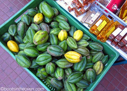 La Serena's small papayas