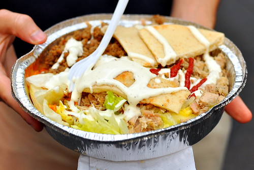 53rd and 6th Halal Cart - New York City
