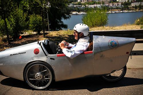 ROAM Velomobile tour gets big sendoff from Portland (Photos