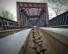 For some its the end of the line & for others its the way back home{EXPLORE} (Cheri Sundra: Guerrilla Historian) Tags: bridge train rust rocks niceshot historian pennsylvania traintracks tracks explore g