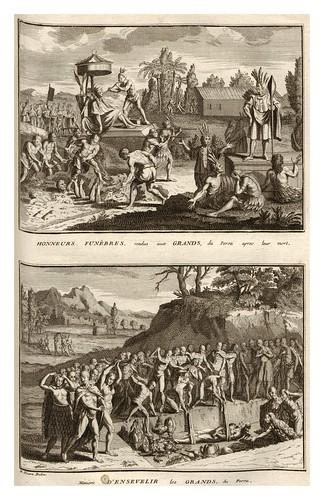 023-Honores funebres en el Peru-Ceremonias et coutumes religieuses de tous les peuples du monde 1741- Bernard Picart-© Universitätsbibliothek Heidelberg