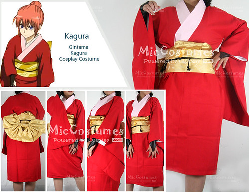 Gintama Kagura Cosplay