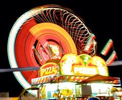 Wheee !!! (etgeek (Eric)) Tags: california longexposure night lights ride statefair spin timeexposure dizzy midway sick calexpo n6oim 9682742