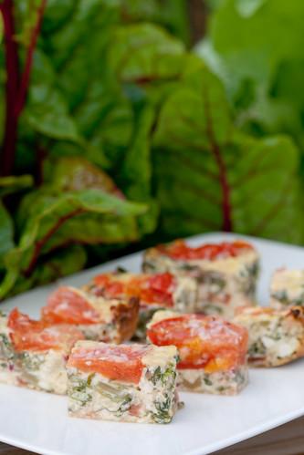 Ricotta & chard gratin / Ricotta-lehtpeedivorm