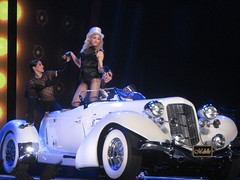 Her Majesty, the Queen of Music - M-Dolla (nicoletta.silvano) Tags: sweet live sticky madonna stickysweettour