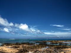 Beach (_takau99) Tags: ocean trip travel sea summer sky cloud beach june topv111 pen olympus okinawa 2011 takau99 penlite epl1