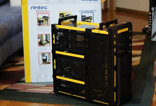 Antec LanBoy Air labiausiai personalizuojamas PC korpusas